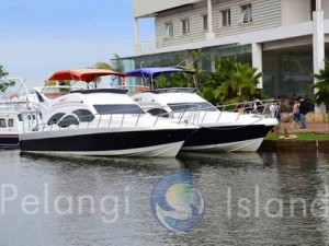 speed boat pulau pelangi