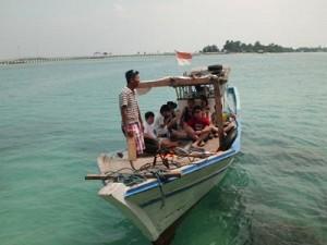 boat di pulau tidung